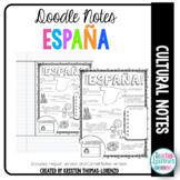 DOODLE NOTES: España