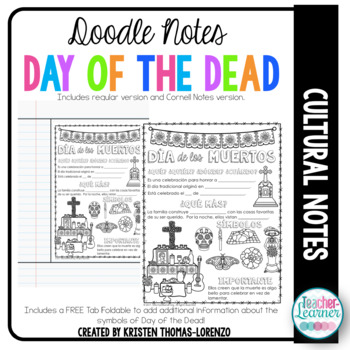 DOODLE NOTES: Día de los Muertos