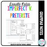 DOODLE NOTES: Imperfect v. Preterite
