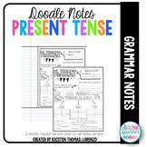 DOODLE NOTES: Present Tense Verbs