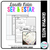 DOODLE NOTES: Ser vs. Estar