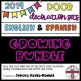 DOOR DECOR BUNDLE- English and Spanish