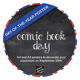 DOOR POSTER - DAY OF THE YEAR: Comic Book Day (September 25th)