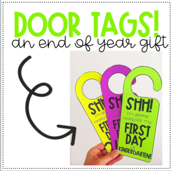 DOOR TAGS! Perfect for end-of-year student gifts!
