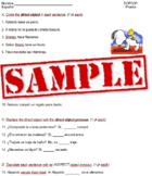 Spanish DOP IOP quiz