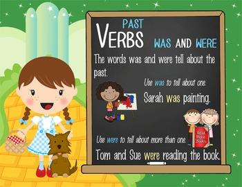DOROTHY & OZ - 1st grade GRAMMAR posters / Scott Foresman Reading