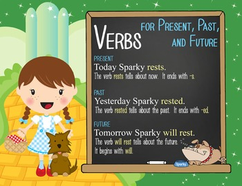 DOROTHY & OZ - 2nd grade GRAMMAR posters / Scott Foresman Reading