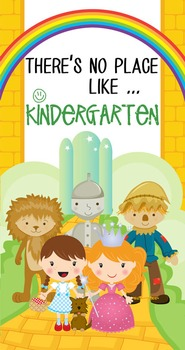 DOROTHY & OZ - Classroom Decor: SMALL BANNER, There's No Place Like Kindergarten