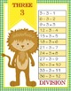 DOROTHY & OZ - MATH Multiplication and Division Charts / 1 to 12