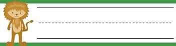DOROTHY & OZ - Student desk nameplates, you personalize