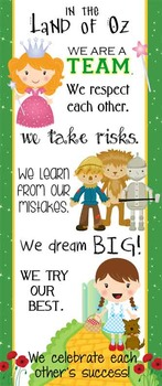 DOROTHY  & OZ  - Classroom Decor: LARGE BANNER, In Our Cla