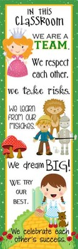 DOROTHY & OZ - Classroom Decor: X-LARGE BANNER, In Our Class / Land of Oz