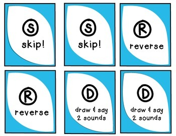 "DOS: the ""Uno-Like"" Speech Sound Card Game - R SOUND"