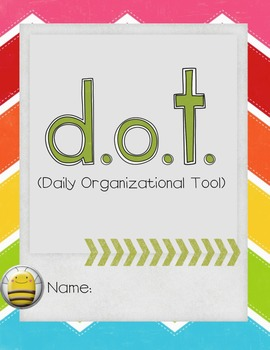 D.O.T Binder Cover