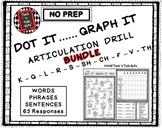 DOT IT ... GRAPH  - IT ARTICULATION DRILL BUNDLE