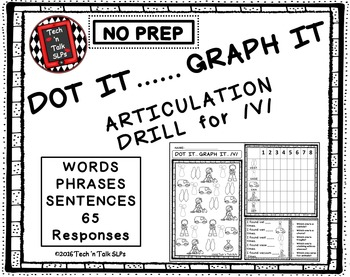 DOT IT ... GRAPH  - IT ARTICULATION DRILL FOR /V/