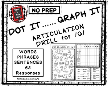 DOT IT ... GRAPH  - IT ARTICULATION DRILL FOR /G/