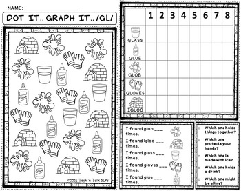 DOT IT ... GRAPH  - IT ARTICULATION DRILL FOR /L/ and /L/ BLENDS