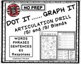 DOT IT ... GRAPH  - IT ARTICULATION DRILL FOR /S/ and /S/ BLENDS