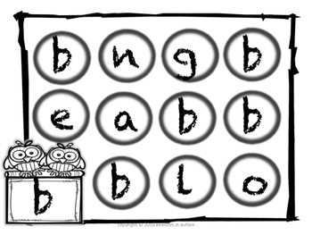 DOT Letters ( lowercase)