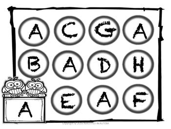 DOT Letters (uppercase)