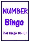 DOT NUMBER BINGO 0-10
