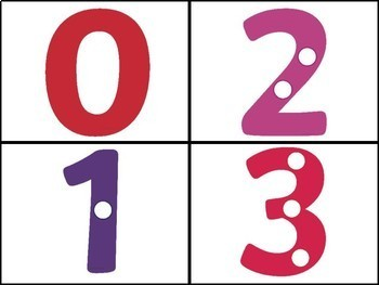 COUNTING DOT NUMBER CARDS