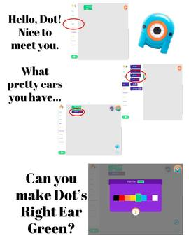 """DOT Robot """"Nice to Meet You"""" LIGHT Activity"""