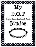 DOT folder or binder cover