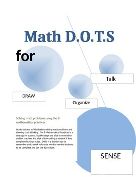 DOTS The 8 Mathematical Practices