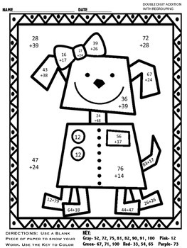 A Crucial Week: Freebie: 2-digit addition and subtraction ...