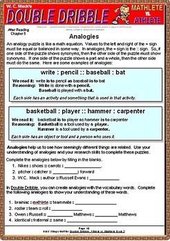 DOUBLE DRIBBLE, Book 2, Mathlete vs. Athlete, by W. C. Mack