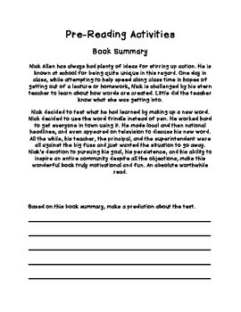DOUBLE NOVEL STUDY: Frindle and The Report Card