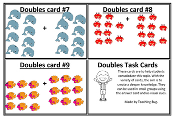DOUBLES TASK CARDS
