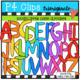 DOUGH ALPHABET AND NUMBER BUNDLE (P4 Clips Trioriginals Clip Art)