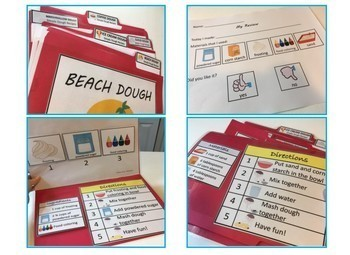 COOKING PLAY-DOH VISUAL RECIPES ACTIVITY PACK