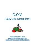 DOV: Daily Oral Vocabulary