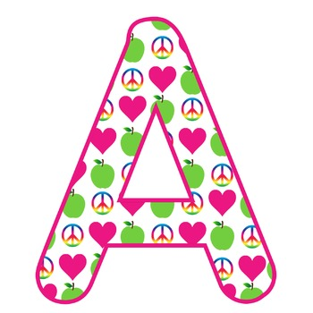 ~DOWNLOADABLE~PEACE, LOVE and TEACHING ABCs!!