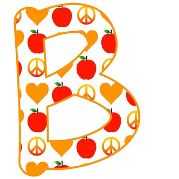 DOWNLOADABLE!!  PEACE, LOVE and TEACHING ABCs--AUTUMN COLORS