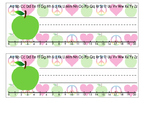 DOWNLOADABLE!!  PEACE, LOVE and TEACHING!!!! Desk Nameplates