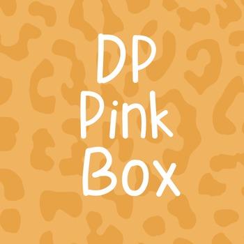 DP Pink Box Font: Personal Use