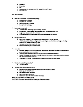DP Psychology Revision Unit