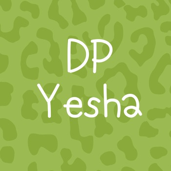 DP Yesha Font: Personal Use
