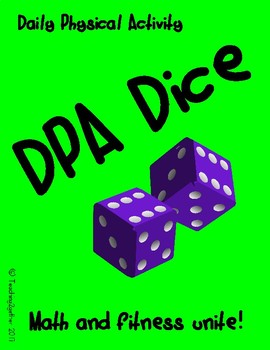 DPA Dice - Classroom Movement Breaks