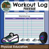 DPA Fitness Workout Log (Grade 9-12 Physical Education)