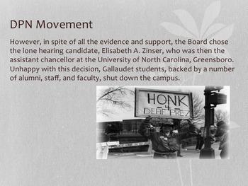 DPN: Deaf President Now Movement