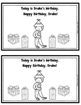 DR Blend: Happy Birthday, Drake (Booklet/Story)