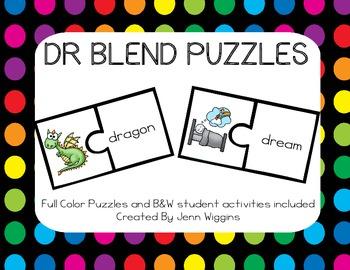 DR Blend Puzzles ~ 18 Puzzles Plus Follow Up Activities