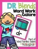 DR Blends Word Work Galore-Differentiated and Aligned Activities and Instruction