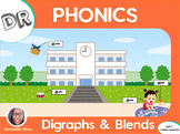 DR Digraphs & Blends Phonics Workbook (LOW PREP)